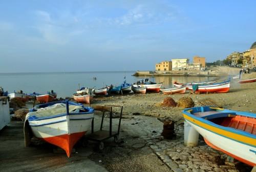 Bagheria - Aspra, le barche dei pescatori