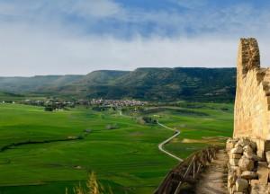 Panorama dal Castello di Las Plassas