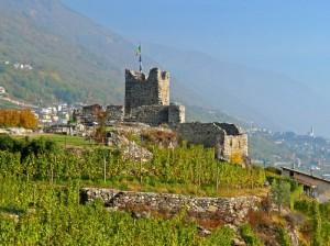 Raro castello gemino-Grumello-Lato militare