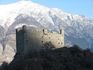 Atmosfera gotica al Castello di Ussel