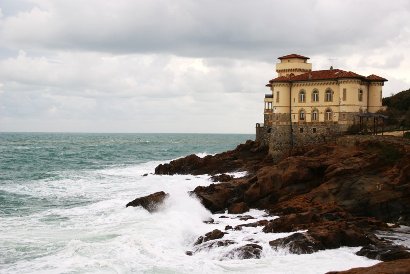 ''sciroccone al castel boccale'' - Livorno