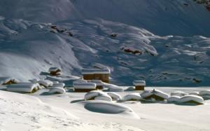 Alpe sotto la neve