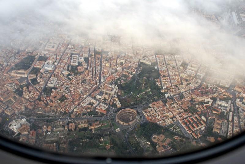 ''panorama un po'….alto'' - Roma
