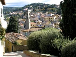 Panorama su Fiesole
