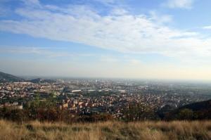 Guardando Brescia verso la Pianura