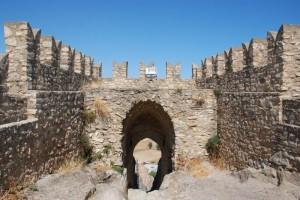 Parte alta del Castello di Sperlinga