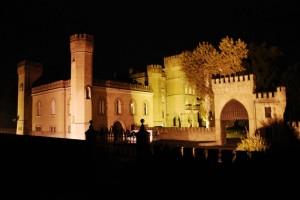 veduta del castello dei conti Carrobbio