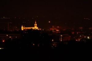 Fidenza di notte