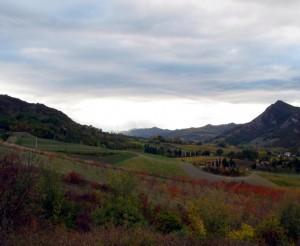 pennellate d'autunno nella campagna di riolo