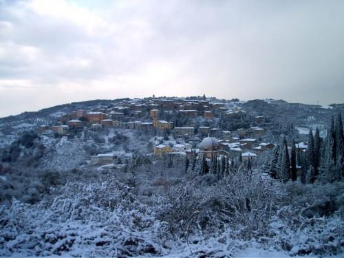 Seggiano - ..è nevicato a Seggiano