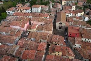 Il centro storico di Roccalbegna