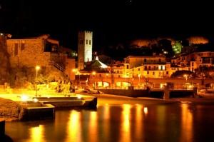 Monterosso by night