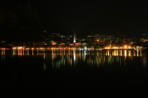 Lecco by night