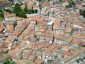 il centro storico di Amaseno