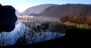 Panorama sul lago Corlo
