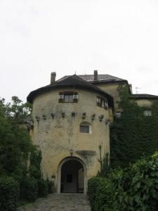 Un piccolo dettaglio del castello di Scena