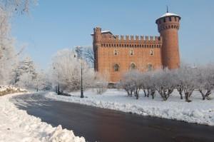 castello e neve