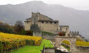 Castel Noarna in un pomeriggio d'autunno