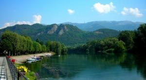 Panorama dell'Adda a Brivio