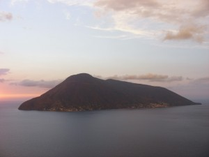 Santa Marina Salina e Lingua viste da Lipari