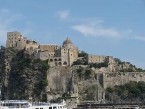 castello ischia dal basso