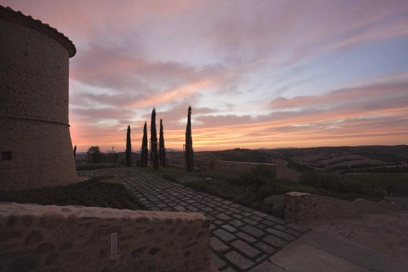 ''tramonto a colle Massari'' - Cinigiano