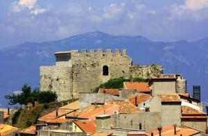 il castello normanno di Postiglione