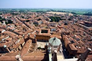 Cremona dal Torrazzo