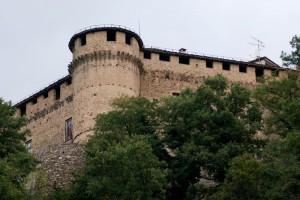 Compiano, il castello