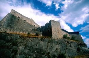 Le mura del forte