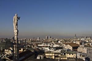 C'è sempre chi veglia su Milano!