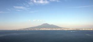 Vista dal mare  di Castellammare di Stabia