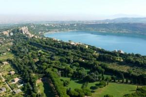 Castel Gandolfo e il lago di Nemi