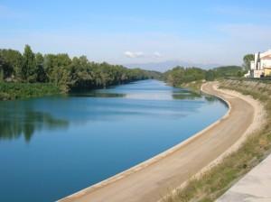 il Tagliamento, fiume importante per il Friuli