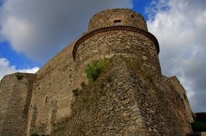 La torre del castello di Vibo