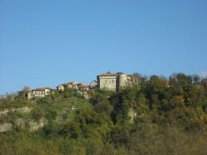Il castello di Lerma a dominio del Monferrato