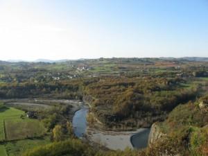 I caldi colori dell' autunno invadono Gambina-frazione di Tagliolo Monferrato