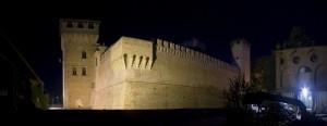 Gran vista del castello Albani di Urgnano