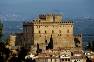 Altra inquadratura del Castello orsini