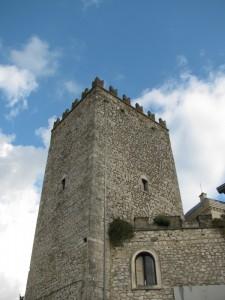 una torre del castello