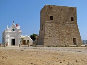 La torre di Capo Nao