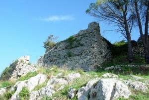 Ruderi di un castello