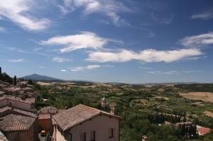 Vista da Montepulciano