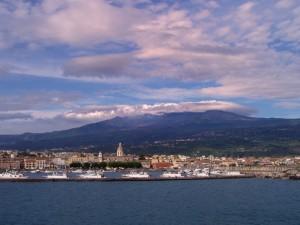 Riposto e l'Etna
