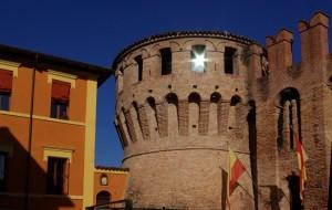 Torre d'ingresso della Rocca di Riolo Terme
