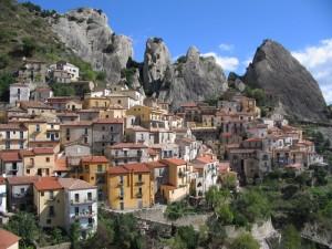 Castelmezzano, panorama