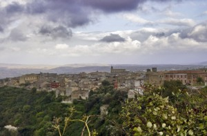 Nubi su Palazzolo Acreide