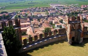 Soave vista dal Castello