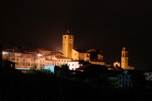 Montechiaro d'Asti - Le luci della sera