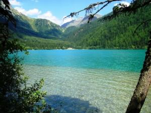 le trasparenze del lago di Anterselva